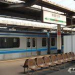 京葉線新習志野駅でりんかい線70-000形と103系DDM駆動試験車両に遭遇