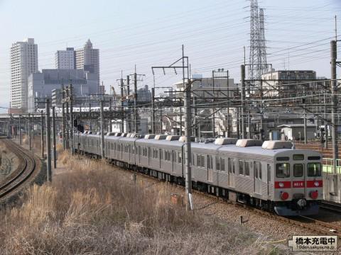 元東急8500系 甲種輸送 2009/03/18 橋本