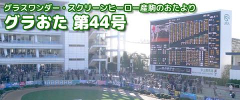 【グラおた44号】ミキノバンジョー重賞参戦/ニンジャ復帰戦/12月7日・12月8日の出馬表