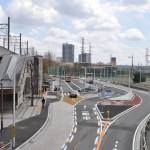 送迎車用乗降スペースを拡大 橋本駅南口駅前広場がリニューアル