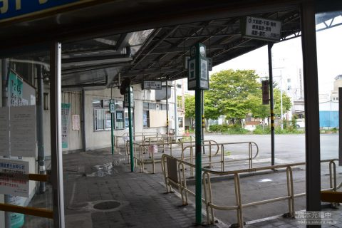 盛岡バスセンター バス乗り場