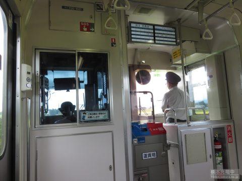 東北本線 701系 車内