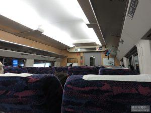 東北新幹線車内