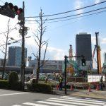 工事が進む都産貿浜松町館跡地の様子を1年3ヶ月ぶりに観察