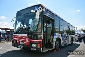 フレームアームズ・ガール ラッピングバス