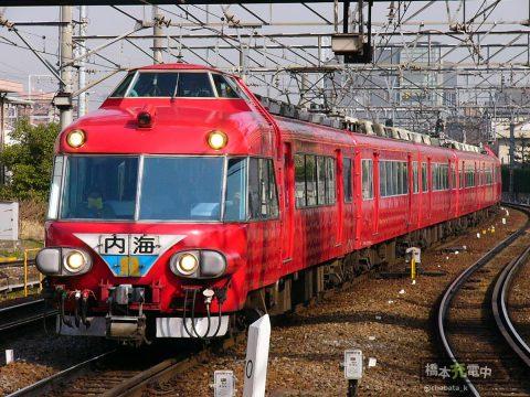 名鉄7000系パノラマカー 2004年3月 神宮前