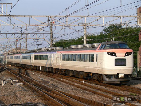 485系「彩」2009年7月 高尾