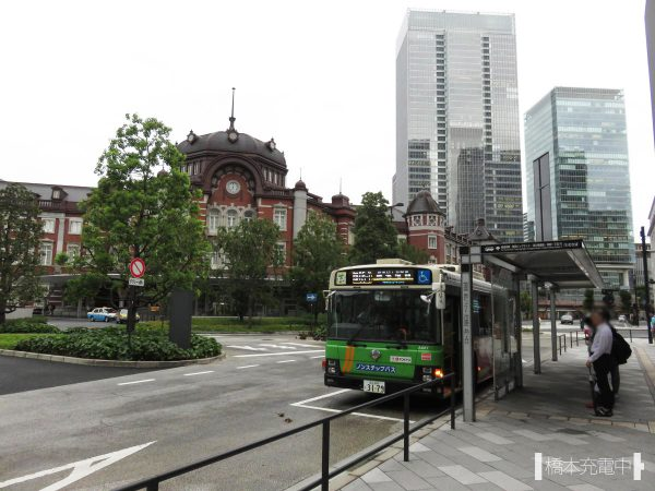 東京駅丸の内南口 都営バス乗り場