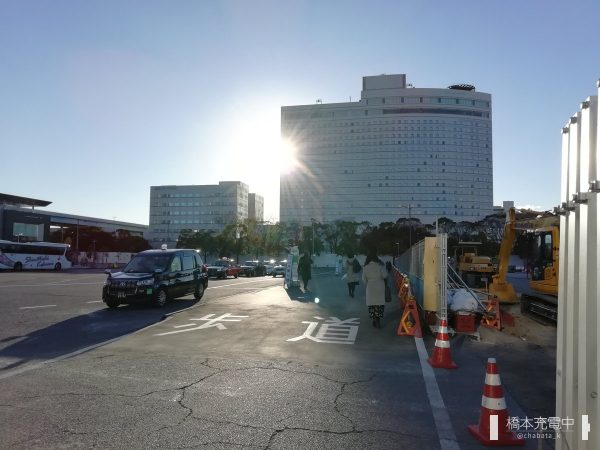 2018/12/28 りんかい線国際展示場駅前 ロータリー