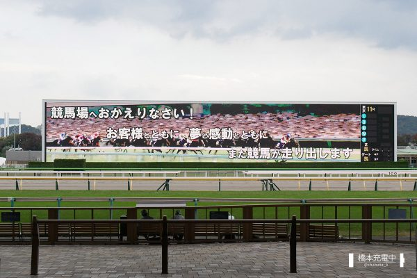 東京競馬場 おかえりなさいメッセージ