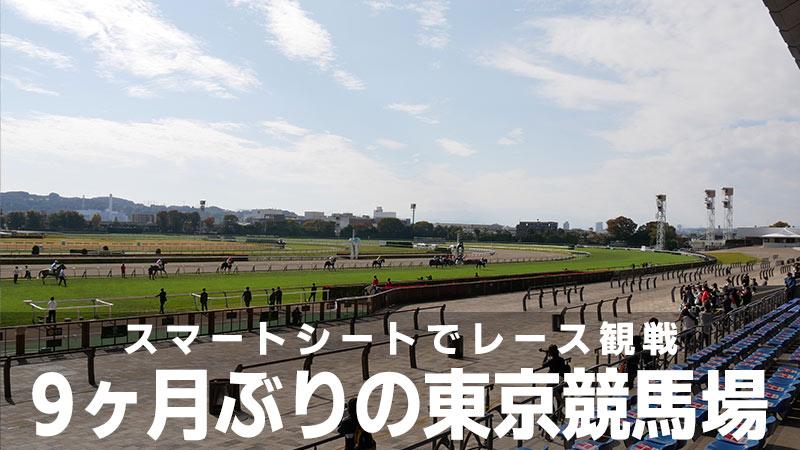 【9ヶ月ぶり】スマートシート導入後の東京競馬場に行ってきた